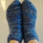 Knit Womens Slipper Socks, Ankle Bo..